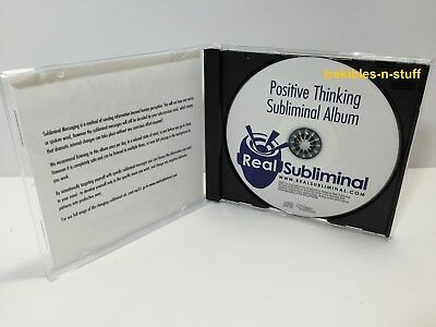 Positive Thinking SUBLIMINAL Self Help CD New