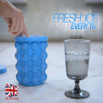 Ice Cube Maker Genie The Revolutionary Space Saving Ice Cube Maker Ice Genie UK