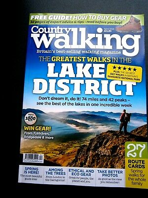 Country Walking Magazine April Issue 2018 (new)