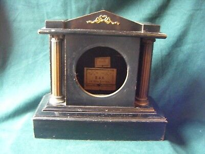"Empty ""H A C"" Mantel Clock Case, Spares/Repair"