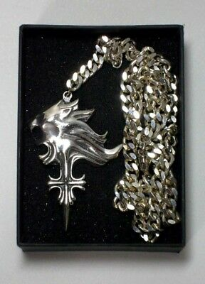 SQUARE Official Final Fantasy VIII Squall Leonhart Necklace Sleeping Lionheart