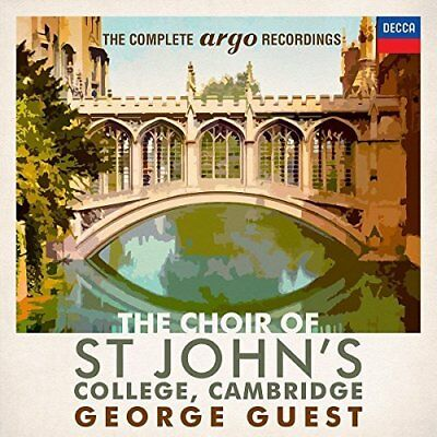 George Guest-St Johns College Cambridge Complete Argo  (UK IMPORT)  CD NEW