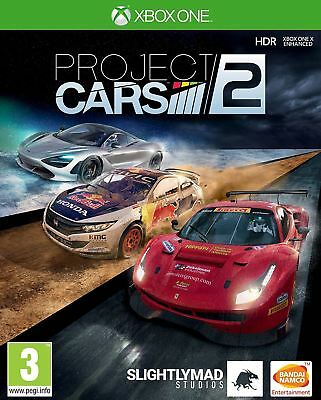 Project Cars 2 II Xbox One New and Sealed