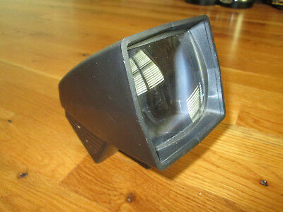 Vintage  GAF PANA VUE 1 Lighted 2X2 Slide Viewer  black