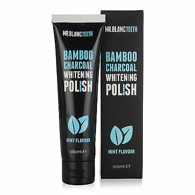 Mr Blanc Teeth | Bamboo Charcoal Whitening Polish