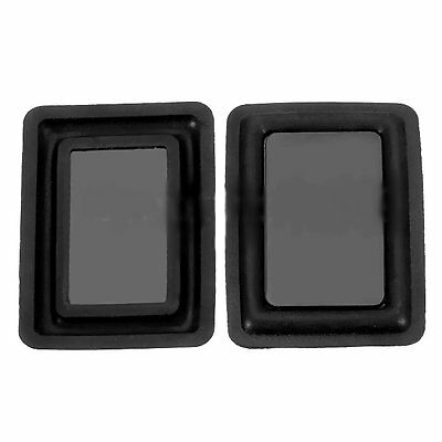 2pcs 60 * 90MM Low-frequency radiator Vibration plate Bass Passive speaker DIY