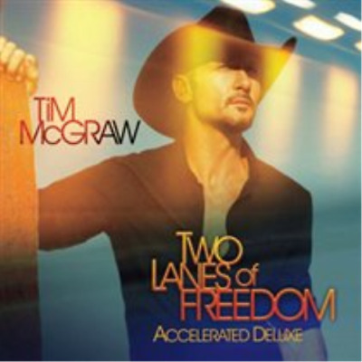 Tim McGraw-Two Lanes of Freedom  (UK IMPORT)  CD NEW