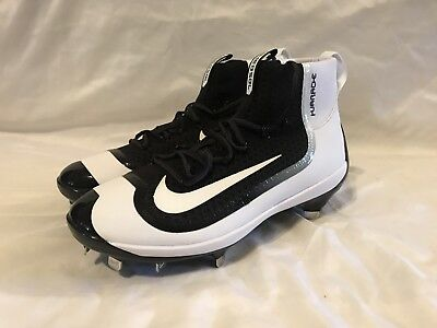 pretty nice fecfd 8490d NWOB NIKE AIR Huarache 2K Filth Elite Mid Metal Men Baseball Cleats size 10