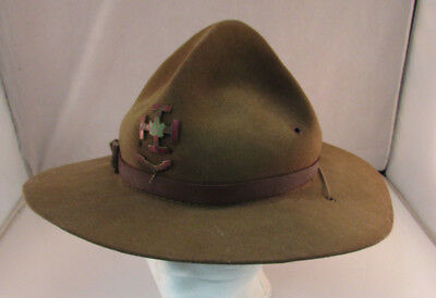 1940's French Canadian Catholique Boy Scout Hat