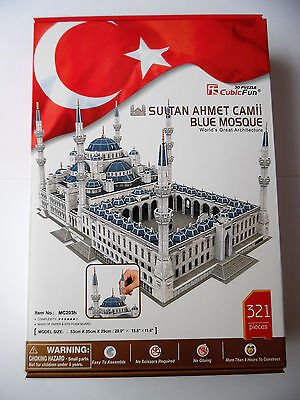 3D Puzzle Sultan Ahmet Camii Blaue Moschee 2.Wahl Blue Mosque Cubic Fun Istanbul