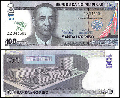 Philippines 100 Piso Banknote, 2012, P-213, UNC, 100 Years Manila Hotel