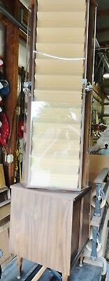 """Coin / Jewelry Display Spin Around 36 Shelves Each 1-1/2"""" Wide Ideal For 2"""" X 2"""""""