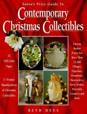 Santa's Price Guide to Contemporary Christmas Collectibles-ExLibrary