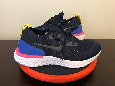 Nike Epic React Flyknit Blue Red White AQ0067-400