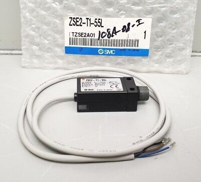 New Smc Zse2-T1-55L Compact Pressure Switch