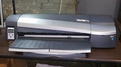 HP Designjet 130 Model C7791H Large Format Printer With Extra Ink.
