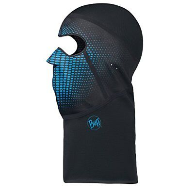 BUFF Balaclava Passe-montagne, Nathan Noir, Adulte/Taille S/M