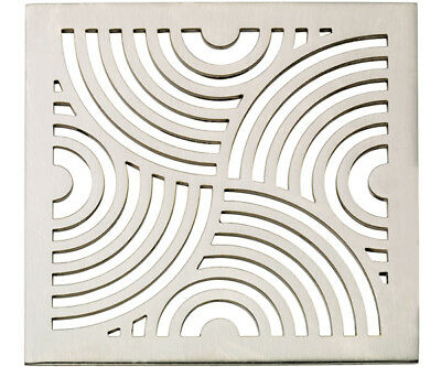 California Faucets 9175-A-PC Deco Swirl StyleDrain Trim Grid Only - Chrome