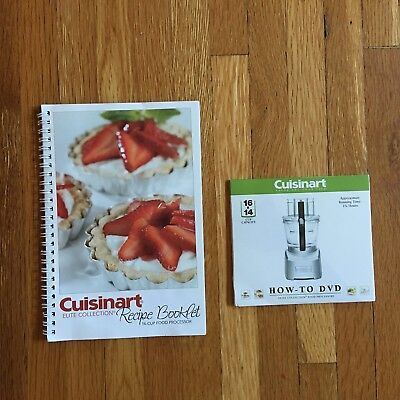 Cuisinart elite food processor recipe booklet dvd 851 cuisinart elite food processor recipe booklet dvd forumfinder Image collections
