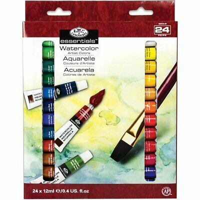 Royal & Langnickel WAT24 Assortiment de 24 Tubes de peinture aquarelle 24 x 1...