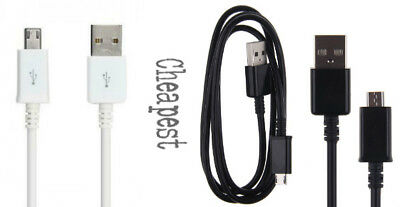 Genuine Samsung 1M 2M 3M Fast Charger Micro USB Data Cable Lead For S4 S5 S6 S7