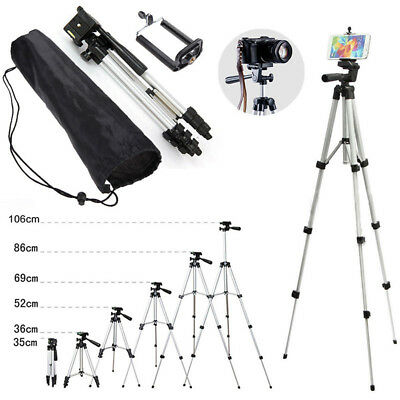 Professional Camera Tripod Stand Holder Supports For DSLR Canon Nikon With Bag