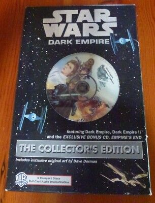 Star Wars Dark Empire The Collector's Edition Compact Disc Audio Dramatization