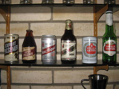Beer cans and bottle combinations