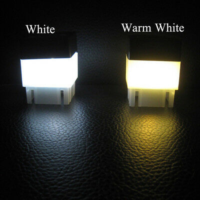 Outdoor Solar Powered LED Light Fence Post Pool Square Garden Waterproof Lamp AU