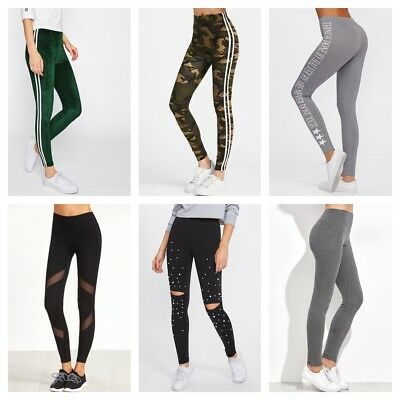 Adidas Nike's Style Cool Women's Leggings Workout Yoga Very Soft Comfortable