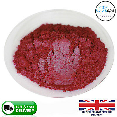 Cosmetic Mica Powder Red Bordeaux Pigment Soap Bath Bombs  Nail Art Additive