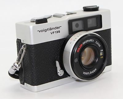 Voigtländer VF135 Rangefinder 35mm Film Camera with Carl Zeiss 40mm lens & flash