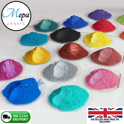 Cosmetic Mica Powder Pigment Soap Bath Bombs  Nail Art Additive Soy Wax Candle