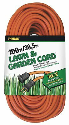 Prime Wire & Cable EC481635 100-Foot 16/2 SJTW Lawn and Garden Outdoor Extension