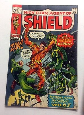 NICK FURY AGENT OF S.H.I.E.L.D #17 ~ 1971 Marvel Comics - Giant-Size! Frank Ray!