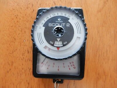 Gossen Scout 2 light meter  made in Germany works well