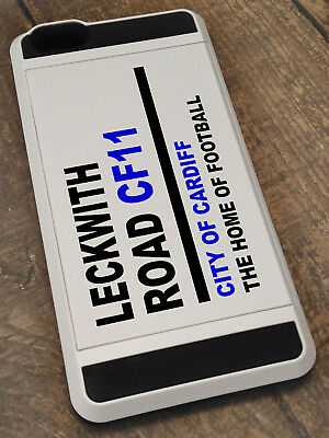 Personalised case for apple iphone, shockproof card holder, Cardiff City fc gift
