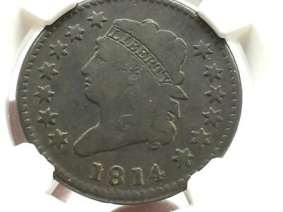 1814 Large Cent G6BN S-294 Crosslet 4