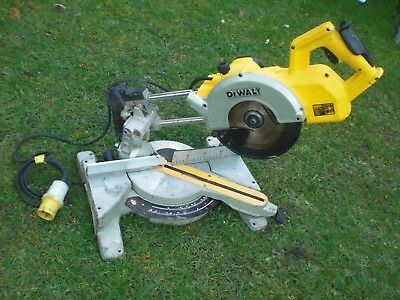 New Shape Model DW777 LX Dewalt 110v Telescopic Slide Chop Mitre saw DW707