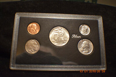 """1937-P (5) Coin Mint Year Set  """"uncirculated""""...........#1561"""