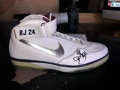 19664f478398 Richard Jefferson Signed Nike Air Force 25 Shoe Autographed Player  Exclusive PE