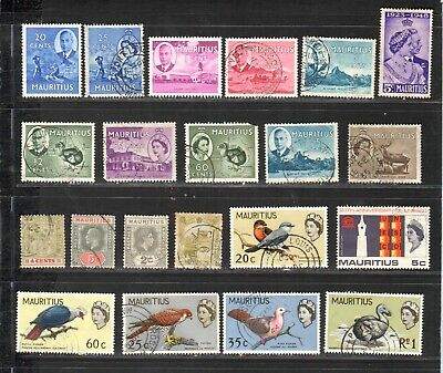 MG464 MAURITIUS Stamps Used CLASSIC Lot