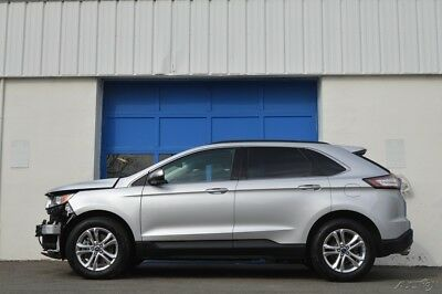 Ford Edge SEL AWD Repairable Rebuildable Salvage Lot Drives Great Project Builder Fixer Easy Fix