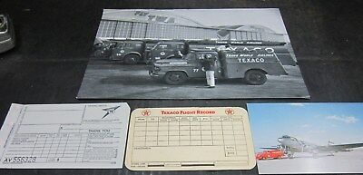 Texaco Aviation Paper & Picture Lot
