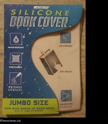 Kittrich Jumbo Size Silicone Book Cover