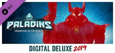 Paladins : Digital Deluxe Edition 2019 - 56% OFF!! Steam Sale!!