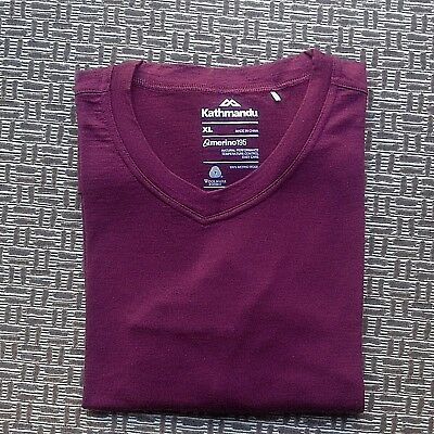 Kathmandu Merino 195 Mens Thermal Underwear Base Layer Size Xl