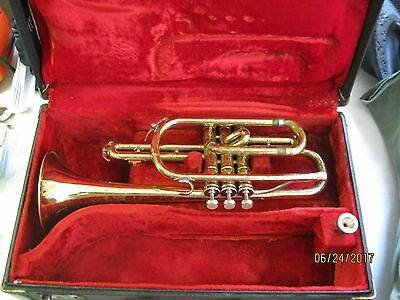 Vintage Martin Imperial Trumpet/Cornet Serial #702625- 17 inches length- works