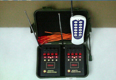 8 Cues Fireworks Firing system Electric Igniter Wedding Switch Waist type remote