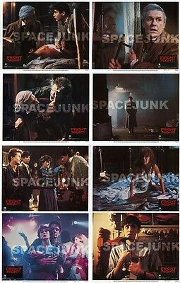 FRIGHT NIGHT Lobby Cards (1985) Complete Set of 8